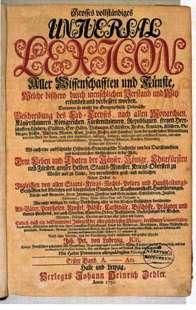 Zedlers Enzyklopädie